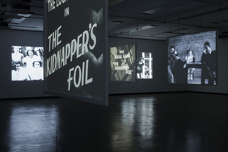 Gareth Long - Kidnappers Foil at Kunsthalle Wien